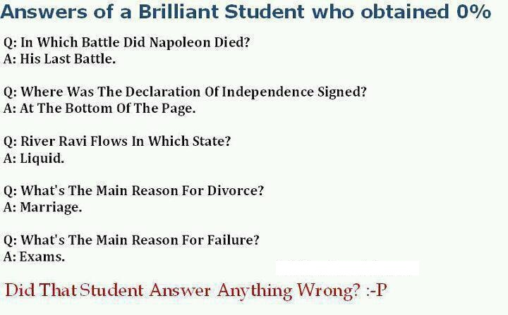 Brilliant Answers for fun