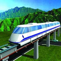 Magnetic levitation trains also called as Maglev trains are becoming a